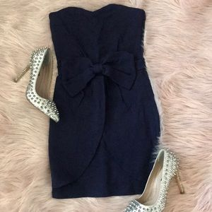 💗 5/$25 Navy Blue ASOS Mini Dress